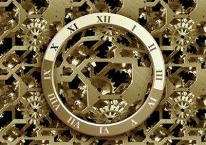 Futuristic Clock