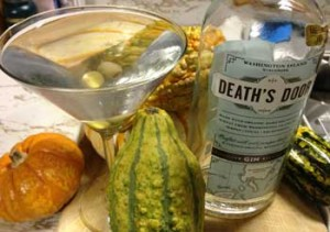 Deaths Door Gin Martini